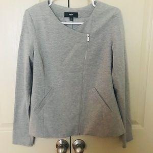 NWOT asymmetric zip jacket